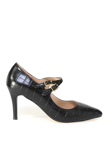 Fabrika Fabrika Siyah Kadın Topuklu Ayakkabı Siyah